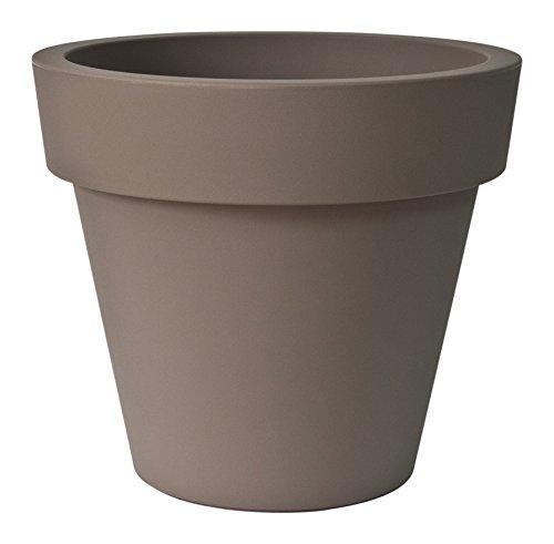 Euro3plast-Pot Ikon 100 E.1 P.6. 100X89h Cm Gris Tortora