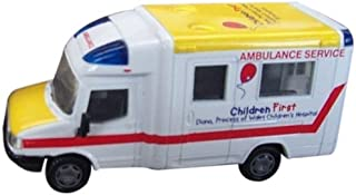 Richmond Toys 1:50 Limited Edition Children First Diana/ Princess Of Wales Children's Hospital Ambulance Die-Cast Collectors Model
