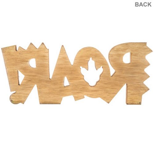 ROAR! Wood Wall Decoration Boys Room Kids Decor