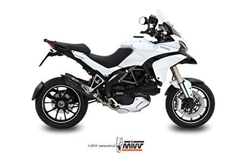 Ducati Multistrada 12002012Auspuff MIVV Terminal Sound black Edelstahl