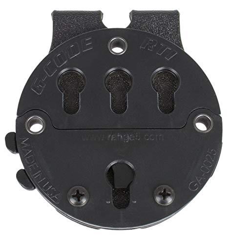 G-CODE (Black RTI Battle Belt MOLLE Adapter-GCA 87-100% Made in USA (1143-7A)