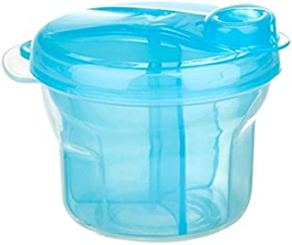 Babykings Powder Formula Dispenser and Snack Cup Dispenser Portable Travel Container Bottle Storage (Blue)
