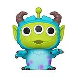 Funko- Pop Disney: Pixar-Alien as Sulley Anniversary Figura Coleccionable, Multicolor...