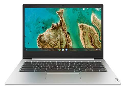 "Lenovo IdeaPad 3 Chromebook - Ordenador Portátil 14"" FullHD (Intel Celeron N4020, 4GB RAM, 64GB eMMC, Intel℗ UHD Graphics 600, Chrome℗ OS), Color Gris - Teclado QWERTY español"