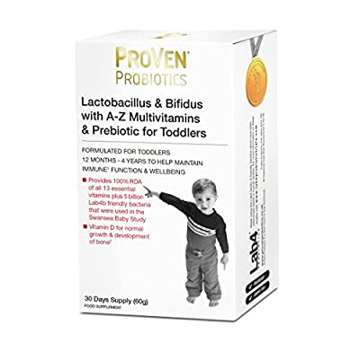 Proven Probiotics 60 g Lactobacillus and Bifidus for Toddlers
