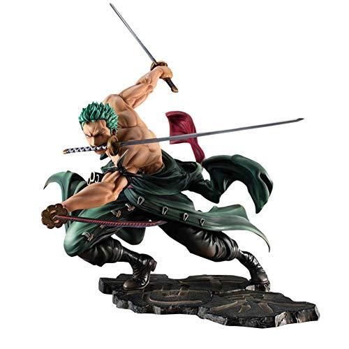 Zorro, EIN PVC Digitales Spielzeug, Eine Action-Figur Aus Dem Beliebten Comic-One Piece, EIN Porträt des Charakters, Der Den Zustand des Angriffs Zeigt