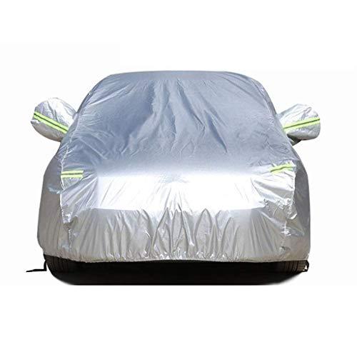 GYPPG Compatible con Mercedes-Benz Clase M Cubiertas Exteriores Completas Resistentes al Agua Cubierta de automóvil Transpirable Aislamiento térmico para Todo Clima Protección Solar a Prueba de po
