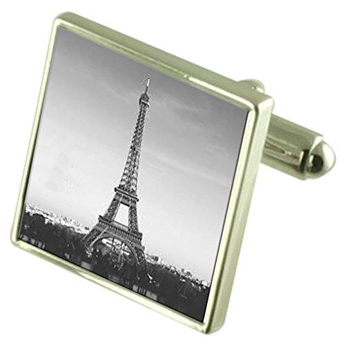Select Gifts Paris Tour Eiffel de manchette avec poche