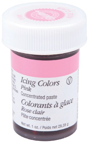 Wilton 610-256 Icing Gel, 1-Ounce, Pink