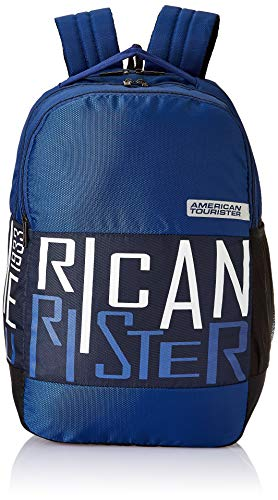 Best american tourister black and grey laptop bag backpacks