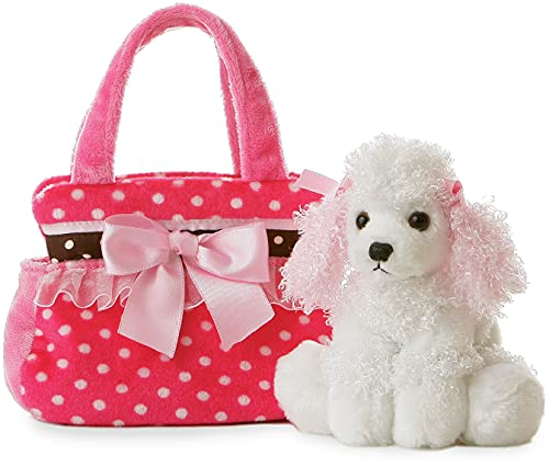 Product Image of the Aurora World Pet Carrier - 8' Fancy Pink Polka Dot, Multicolor