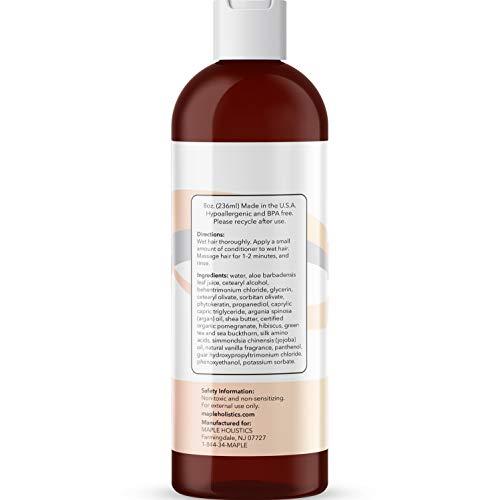Maple Holistics Silk8 revitalisant naturel - gratuité des soins pour cheveux secs et abîmés - 8...