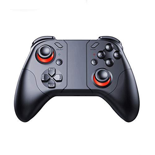 YU-AD Wireless Controller, Fernbedienung Spielsteuerung, Mobile/VR/for Apple/PC-Spiele, Wireless Gamepad, for PC / PS3 / Smart TV/Smartphone mit Telefon-Bracket
