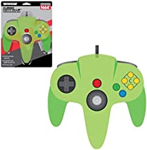 TeknoGame N64 Wired Controller Clear Green for Nintendo 64 Game System