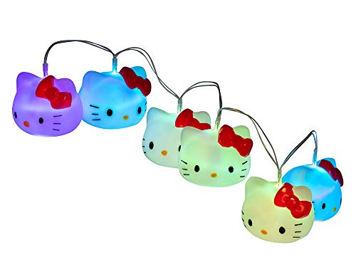 Teknofun Hello Kitty Guirnalda LED con 7 colores
