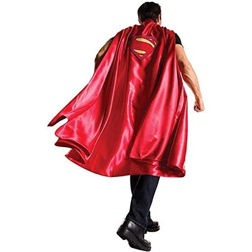 Rubie' s ufficiale adulto, mantello Superman alba di giustizia–Taglia unica