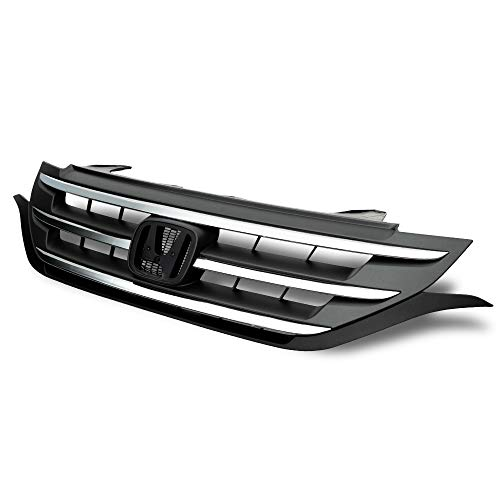 Front Radiater Bumper Upper Center Grille Replacement For Honda CRV CR-V 2012-2014 without Emblem