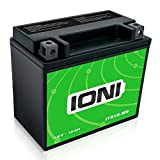 IONI 742386 Batería AGM de 12V 10Ah Compatible con YTX12-BS