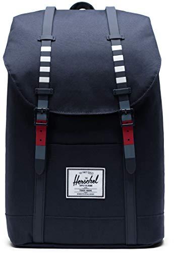 Herschel Retreat Rucksack dunkelblau/rot, OS