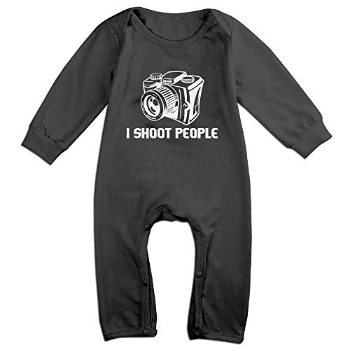SDGSS Combinaison Bébé Bodysuits Shoot People Infant Romper for 6-24m Baby