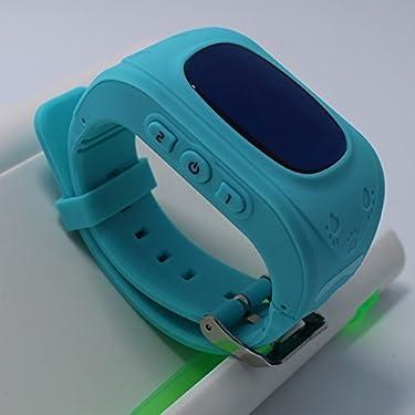 Kids Smart Bracelet Wristwatch Q50 Digital Watch GPS Position&Bidirectional Call&SOS Communicator Android Phone