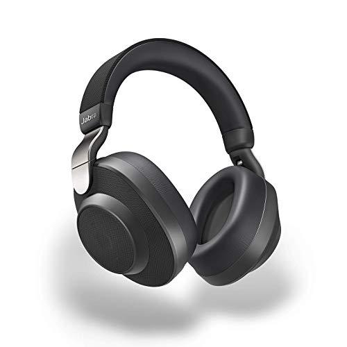 Jabra Écouteurs Circum-auriculaires Elite 85h - Écouteurs Sans Fil à Réduction de Bruit Active avec une Longue Autonomie pour les Appels et la Musique - Noir titane