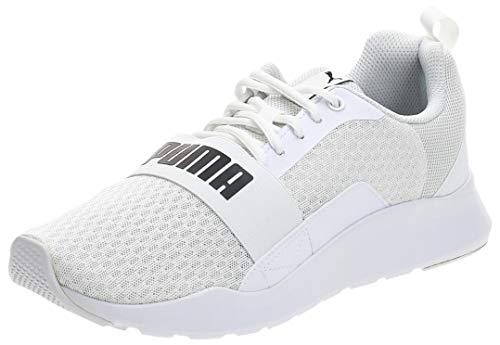 PUMA Wired, Zapatillas Unisex Adulto, Blanco White White White, 43 EU