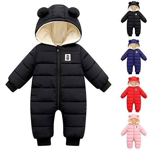 Haokaini Unisex Baby Snowsuit Hooded Jumpsuit Winter Coat Long Sleeve...