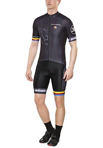 Bioracer Van Vlaanderen Pro Race Bekleidungsset Herren Black Größe M 2020