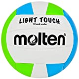 Molten MS240-3 Light Touch Ballon de Volleyball Vert/Bleu/Blanc