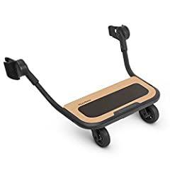 Compatible with 2015-Later VISTA and VISTA V2 Quick snap on and off attachment Conveniently lifts out of the way when not in use Stroller can fold with PiggyBack attached Made with natural, eco-friendly wood, Non-skid surface prevents slipping Suitab...