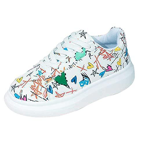 Lage sneakers, canvas platte schoenen, casual schoenen, dames zomer herfst gymschoenen, platte veterschoenen, lichtgewicht, ademend, comfortabele wandelschoenen