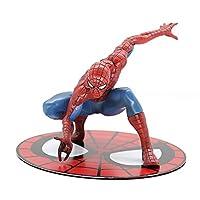 アベンジャーズスパイダーマンヴェノムデッドリーガーディアンムービーペリフェラルモデルハンドメイドオーナメントスタチュートイクラシックスパイダーマン(高さ約14CM)
