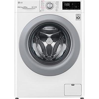 LG F4V310WSE 10.5kg 1400rpm Freestanding Washing Machine - White