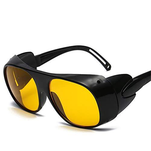 LCPG Das Lichtbogenschweißen Welding Lens Glasses Argon Arc Welding Goggles Sonnenbrillen (Farbe : A)