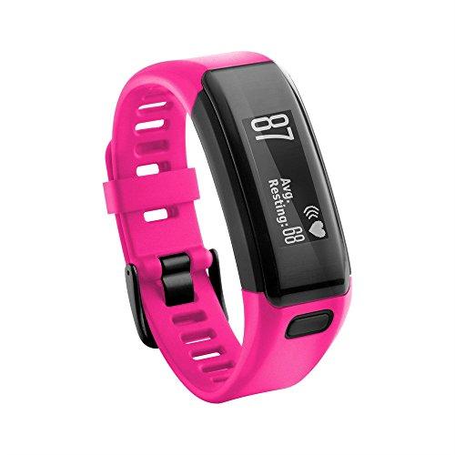 Colorful Silikon Sport Ersatzarmband Ersatz-Uhrenarmband Replacement Wechselarmband watch band für Garmin Vivosmart HR,Lila