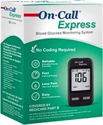 On Call Express Diabetic Testing Meter