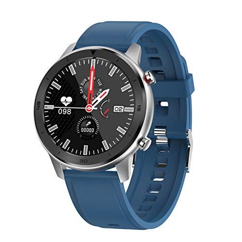 WEINANA Reloj Inteligente Bluetooth Llamada Deportes Impermeable Frecuencia Cardíaca Presión Arterial Oxígeno En Sangre Moda Multifuncional Pulsera Inteligente(Color:mi)