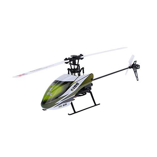 GoolRC 3Dヘリ Falcon K100-B 6CH 3D 6G システム RC ラジコン ヘリコプター BNF 送信機(プロポ)無し 双葉S-FHSS送信機対応