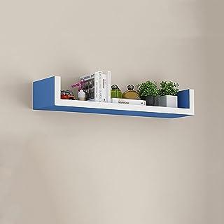 Los estantes flotantes Estante de la pared en forma de U Pared de pared Colgando de la pared Pared de la sala de estar Dec...