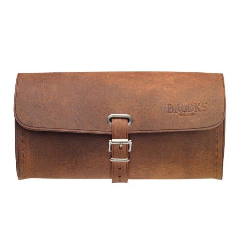 Brooks Challenge Satteltasche, Vintage-Design, echtes Leder, Größe L