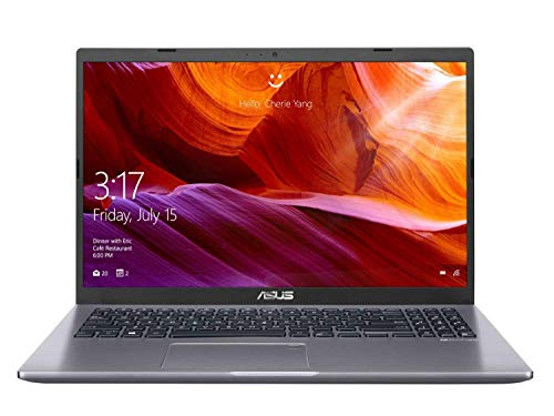ASUS VivoBook 15 (2020) AMD Quad Core Ryzen53500U, 15.6-inch FHD Thin and Light Laptop (4GB RAM/256GB NVMe SSD/Windows 10/Integrated Graphics/Slate Grey/1.8 Kg), M515DA-EJ521T