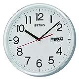 Seiko QXF104S - Reloj de Pared (plástico), Color Plateado