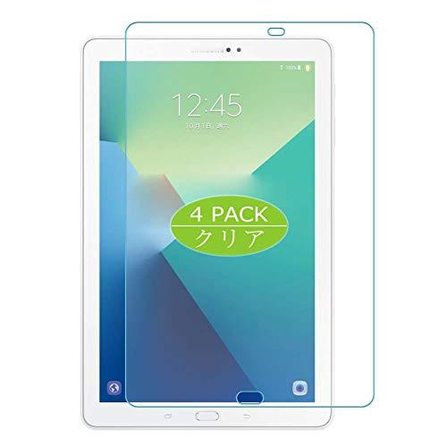 "VacFun 4 Piezas Claro Protector de Pantalla, compatible con Samsung Galaxy Tab A6 10.1"" P580, Screen Protector Película Protectora(Not Cristal Templado) NEW Version"