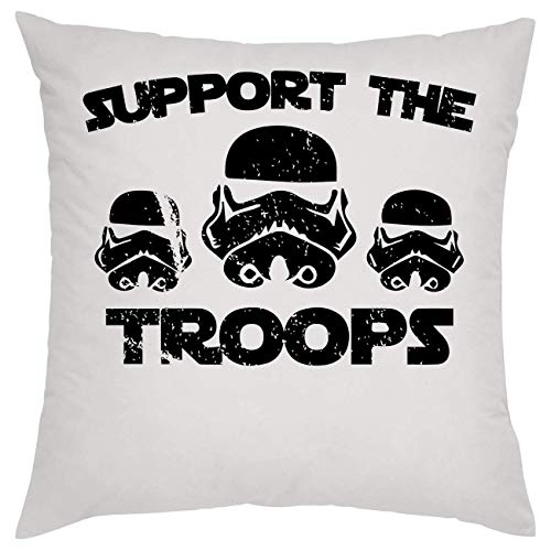 Support The Troops Stormtrooper Kissen Pillow