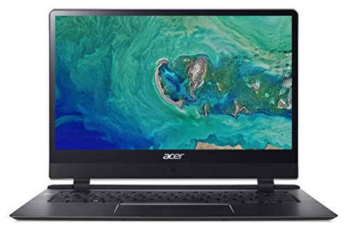 Acer Swift 7 SF714-51T Notebook - (Intel Core i7-7Y75, 8GB RAM, 256 GB SSD, 14' FHD IPS NarrowBoarder Touch Display, Black)