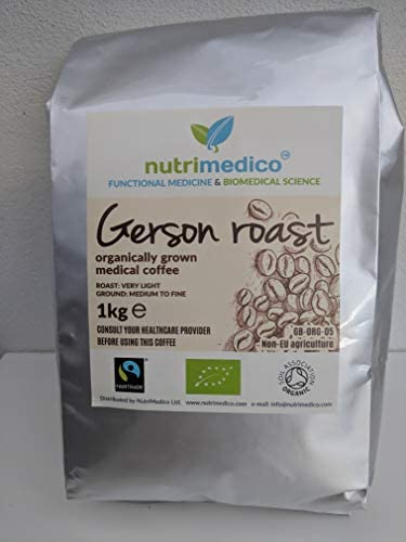 Organic Gerson Roast, Detox Therapeutic Coffee for Enema (1kg)