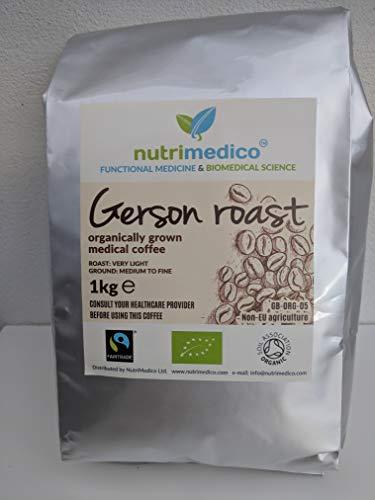 Organic Gerson Roast, Detox Therapeutic Coffee for Enema (1kg)