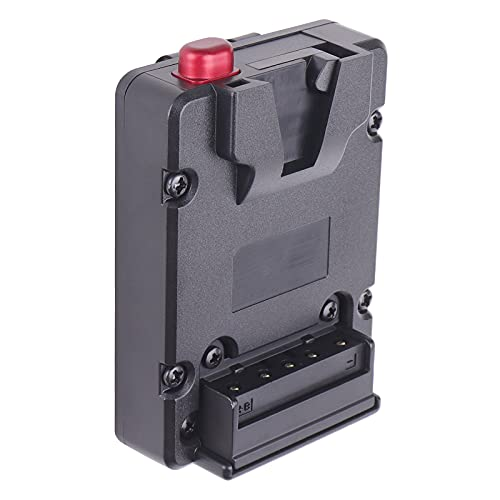 Baoblaze Distribuidor de Potencia de Soporte de Batería Compact V Mount para Cámara Sin Espejo DSLR