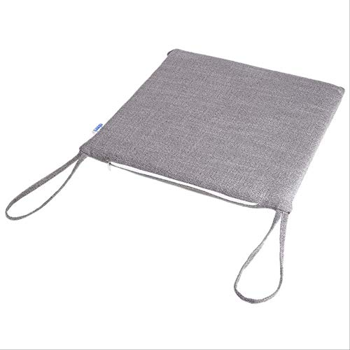 OLI robuust sofakussen slaapkamer auto zitvlak lange levensduur stoel kussen kruk kantoor katoen milieu 40 * 40cm grijs